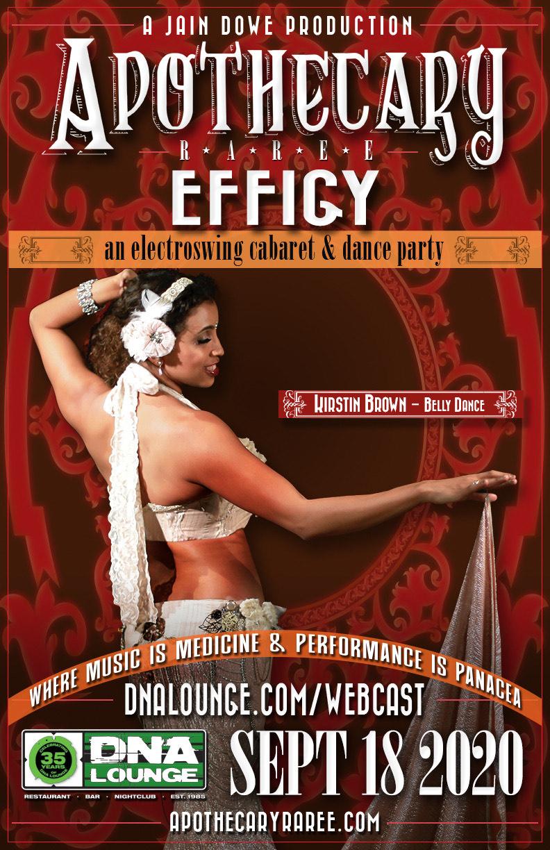 Apothecary Raree: Effigy! Kirstin Brown - Belly Dance